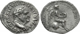 CAPPADOCIA. Caesarea (as Eusebeia). Vespasian (69-79). Hemidrachm. 