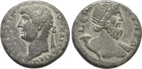 EGYPT. Alexandria. Hadrian (117-138). BI Tetradrachm. Dated RY 19 (134/5). 