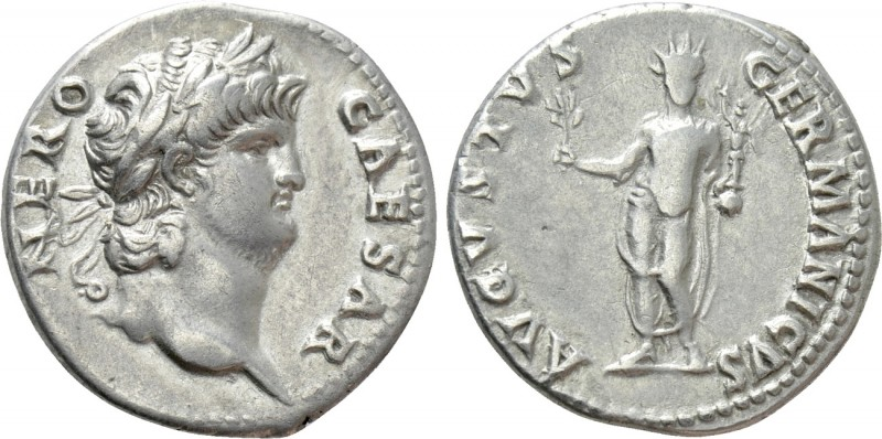 NERO (54-68). Denarius. Rome.