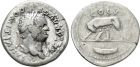 DOMITIAN (81-96). Denarius. Rome. 