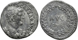DOMITIAN (81-96). Denarius. Ephesus. 