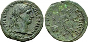 TRAJAN (98-117). As. Rome. 