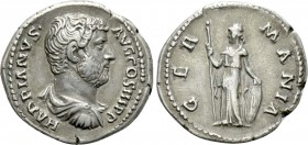 HADRIAN (117-138). Denarius. Rome.