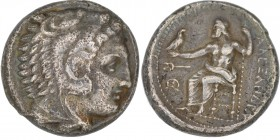 Macedonian Kingdom. Alexander III the Great (336-323 BC). AR tetradrachm (24mm, 16.98 g, 3h). Struck 336-323 BC. Head of Herakles right, wearing lion ...