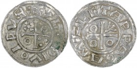 Czech Republic. Vladivoj 1002-1003. AR Denar (19mm, 1.01g). Prague mint. +VLADIVOIDVR, cross with annulets in two angles, three pellets in one angle a...