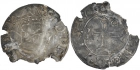 England. Edward the Confessor. 1042-1066. AR Penny (19mm, 1.20g, 10h). Pointed Helmet type (BMC viia, Hild. F var.). York(?) mint; moneyer Vetrfugl,. ...