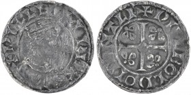 England. William I the Conqueror. 1066-1087. AR Penny (19mm, 1.01 g, 9h). Profile Right type (BMC VII). Canterbury mint; moneyer Wulbold. Struck circa...