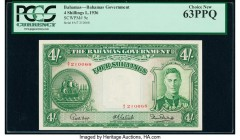 Bahamas Bahamas Government 4 Shillings 1936 (ND 1947) Pick 9e PCGS Currency Choice New 63PPQ.   HID09801242017  © 2020 Heritage Auctions | All Rights ...