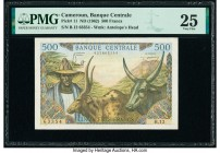 Cameroon Banque Centrale 500 Francs ND (1962) Pick 11 PMG Very Fine 25.   HID09801242017  © 2020 Heritage Auctions | All Rights Reserved