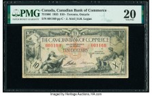 Canada Toronto, ON- Canadian Bank of Commerce $10 2.1.1935 Pick S971 Ch.# 75-18-06 PMG Very Fine 20.   HID09801242017  © 2020 Heritage Auctions | All ...
