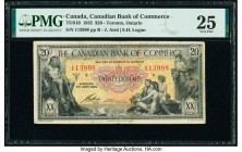 Canada Toronto, ON- Canadian Bank of Commerce $20 2.1.1935 Ch.# 75-18-10 PMG Very Fine 25.   HID09801242017  © 2020 Heritage Auctions | All Rights Res...