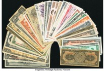 Cuba, Mexico, Paraguay & More Group Lot of 43 Examples Good-Crisp Uncirculated.   HID09801242017  © 2020 Heritage Auctions | All Rights Reserved