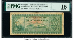 Curacao Curacaosche Bank 25 Gulden 1943 Pick 27 PMG Choice Fine 15.   HID09801242017  © 2020 Heritage Auctions | All Rights Reserved