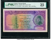 Egypt National Bank of Egypt 100 Pounds 1948-50 Pick 27a PMG Very Fine 25. Repaired.  HID09801242017  © 2020 Heritage Auctions | All Rights Reserved