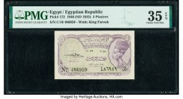 Egypt Egyptian Republic 5 Piastres 1940 (ND 1952) Pick 172 PMG Choice Very Fine 35 EPQ.   HID09801242017  © 2020 Heritage Auctions | All Rights Reserv...
