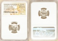 MACEDONIAN KINGDOM. Alexander III the Great (336-323 BC). AR drachm (17mm, 4.23 gm, 9h). NGC Choice AU 5/5 - 5/5. Posthumous issue of Abydus, ca. 310-...