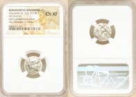 MACEDONIAN KINGDOM. Alexander III the Great (336-323 BC). AR drachm (16mm, 5h). NGC Choice XF. Early posthumous issue of Lampsacus, ca. 323-317 BC. He...