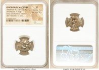 MACEDONIAN KINGDOM. Alexander III the Great (336-323 BC). AR drachm (18mm, 4.10 gm, 5h). NGC XF 4/5 - 2/5. Posthumous issue of Lampsacus, ca. 310-301 ...
