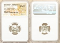 MACEDONIAN KINGDOM. Alexander III the Great (336-323 BC). AR drachm (17mm, 12h). NGC Choice VF. Early posthumous issue of Sardes, ca. 323-319 BC. Head...
