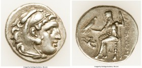 MACEDONIAN KINGDOM. Alexander III the Great (336-323 BC). AR drachm (18mm, 4.31 gm, 4h). About XF. Posthumous issue of Lampsacus, ca. 310-301 BC. Head...