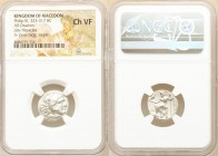 MACEDONIAN KINGDOM. Philip III Arrhidaeus (323-317 BC). AR drachm (18mm, 12h). NGC Choice VF. Lifetime issue of Magnesia ad Maeandrum, ca. 323-319 BC....