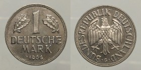Germany. 1 mark 1966 G. UNC