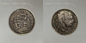 Great Britain. George III. 6 pence 1820. Ag. 2,42g
