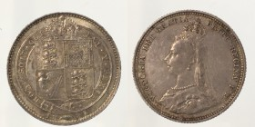 Great Britain. Victoria. Shilling 1887 SPL+