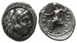 "Kings of Macedon. Babylon. Alexander III ""the Great"" 336-323 BC. Struck under Stamenes or Archon, circa 324/3 BC.. Obol AR"