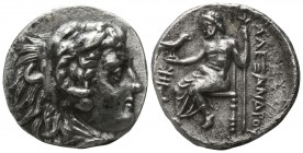 "Kings of Macedon. Sardeis. Alexander III ""the Great"" 336-323 BC. Drachm AR"