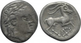 WESTERN EUROPE. Southern Gaul. Allobroges (1st century BC). Drachm.