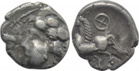 WESTERN EUROPE. Central Gaul. Arverni (Late 2nd-early 1st centuries BC). Drachm.
