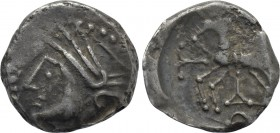 WESTERN EUROPE. Central Gaul. Lingones (1st century BC). Drachm.