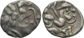 WESTERN EUROPE. Central Gaul. Pictones (1st century BC). Hemidrachm.