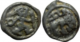 WESTERN EUROPE. Northeast Gaul. Remi (1st century BC). Potin Unit.