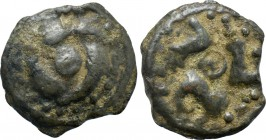WESTERN EUROPE. Northeast Gaul. Suessiones (1st century BC). Potin Unit.