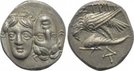 MOESIA. Istros. Drachm (4th century BC).