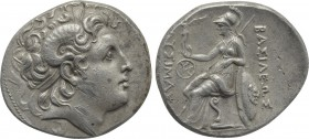 KINGS OF THRACE (Macedonian). Lysimachos (305-281 BC). Tetradrachm. Uncertain mint, possibly Lampsakos.