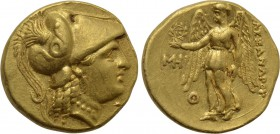 KINGS OF MACEDON. Alexander III 'the Great' (336-323 BC). GOLD Stater. Uncertain mint, possibly Sinope.