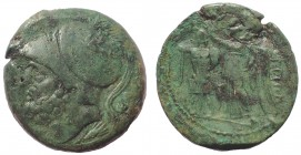 Bruttium, The Brettii, ca. 214-211 BC. Æ Didrachm