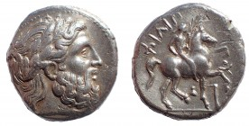 Kingdom of Macedon. Philip II AR Tetradrachm