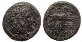 Kings of Macedon. Alexander III – Antigonos I Monophthalmos. Circa 333-305 BC. Æ Unit. Extremely Rare.