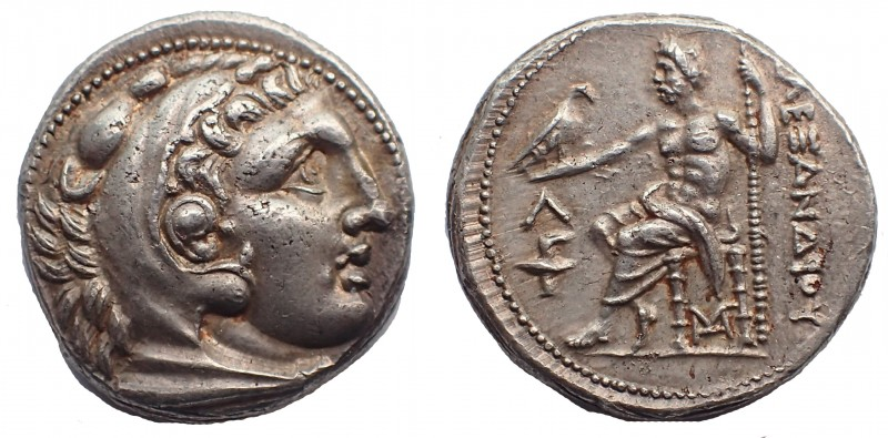 Kings of Macedon. Kassander. As regent, 317-305 BC, or King, 305-297 BC. AR Tetr...