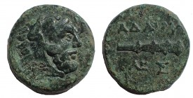 Kings of Thrace. Adaios. Circa 253-243 BC. Æ 18