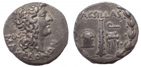 Macedon under Roman Rule: Aesillas, Quaestor, ca. 95-70 BC. AR Tetradrachm