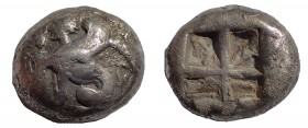 Islands off Ionia. Chios. 435 - 425 BC. 1/3 Stater