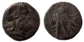 Ptolemaic Kingdom of Egypt, uncertain ruler Æ 21. 4.6 gm. Uncertain mint on Cyprus, time of Ptolemy IX-X, circa late 2nd - early 1st Century BC.