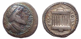 Kings of Numidia. Juba I. 60-46 BC. AR Denarius
