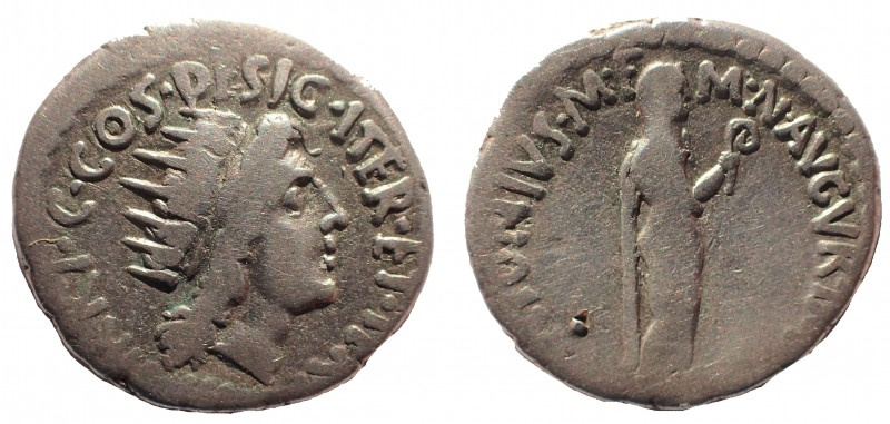 Marc Antony, as Triumvir (43-30 BC). AR denarius 19 mm. 3.7 gm. Athens, 38/7 BC....