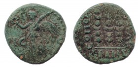 Macedon, Philippi. Pseudo-autonomous issue. temp. Claudius or Nero, circa AD 41-68. Æ 17 mm
